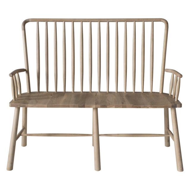 Pavilion Chic Dining Bench Nordic in Oak
