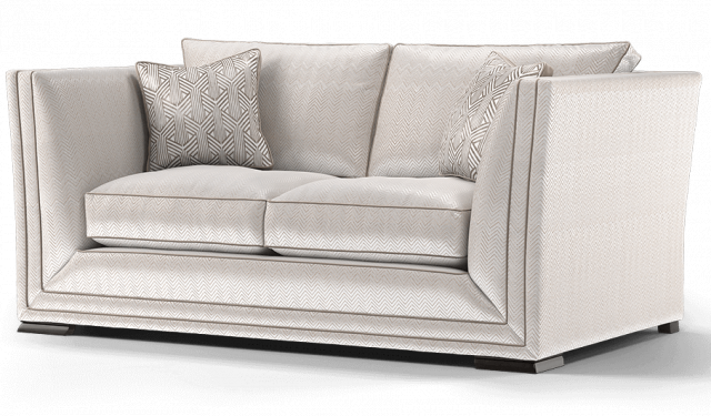 Duresta Hollister 2 Seater Sofa Carraway Champagne