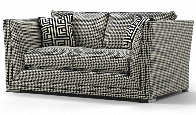 Duresta Hollister 2 Seater Sofa Hepburn Nero
