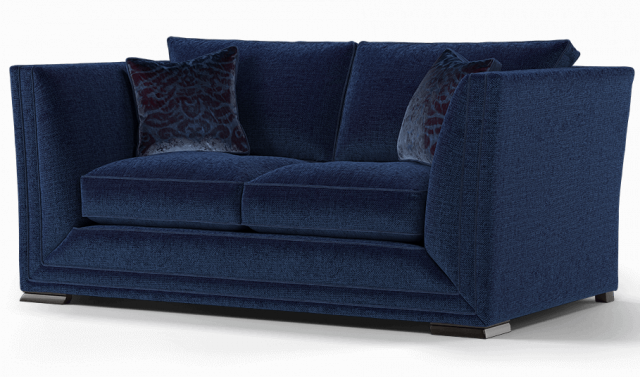 Duresta Hollister 2 Seater Sofa Ombre Royal