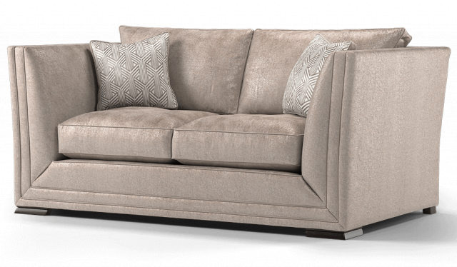 Duresta Hollister 2 Seater Sofa Sabrina Black