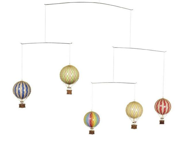 Authentic Models Hot Air Balloon Mobile
