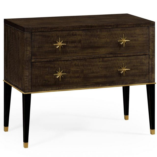 Jonathan Charles Chest of Drawers in Coffee Bean Eucalyptus