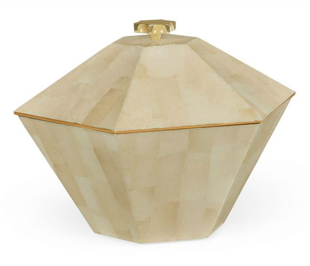 Jonathan Charles Hexagonal Box Dutch