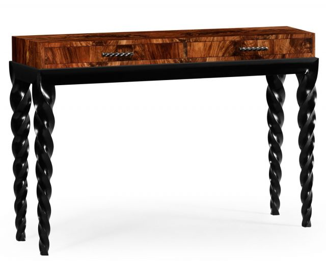 Jonathan Charles Console Table Barley with Drawer