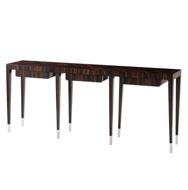 Theodore Alexander On Point 3 Drawer Console Table