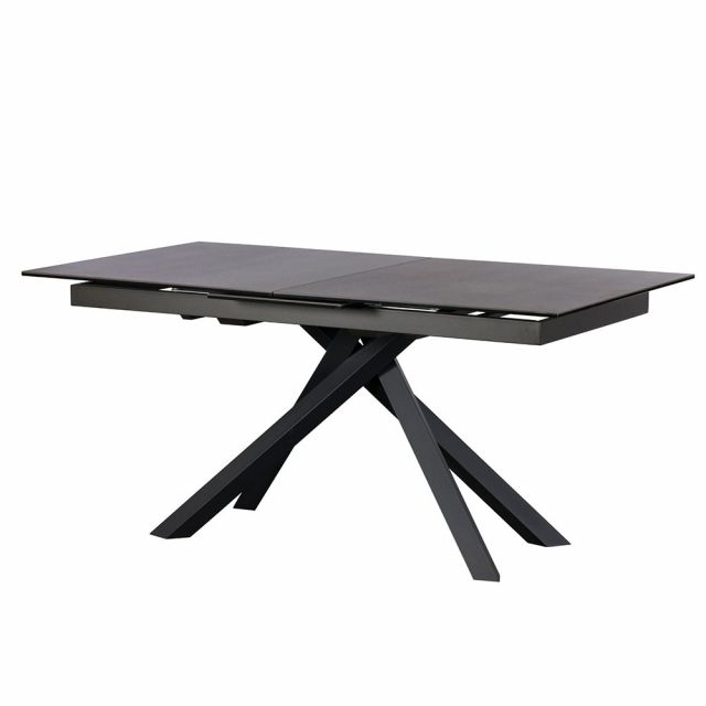 Pavilion Chic Extending Dining Table Panama with Spider Leg