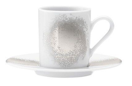 LSA International Celeste Coffee Cup and Saucer Set