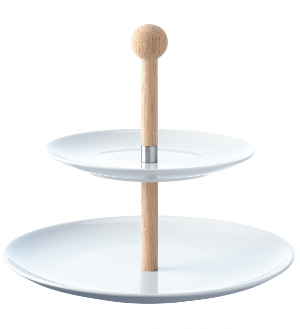 LSA International Dine Two Tiered Cake Stand