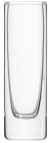 LSA International Flower Rectangular Stem Clear Vase