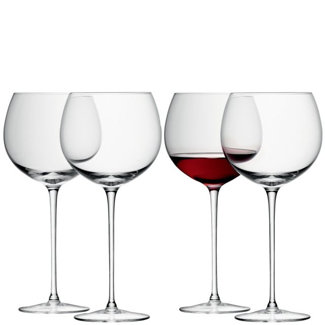 LSA International Wine Balloon Glasses Set