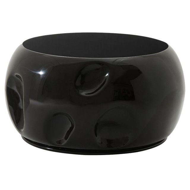 Theodore Alexander Round Coffee Table Dimple in Cava