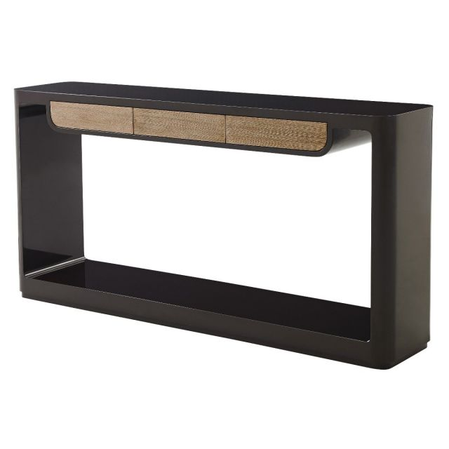 Theodore Alexander Console Table Bauer in Lacquer & Wenge