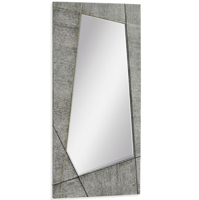 Jonathan Charles Floor Mirror Transitional