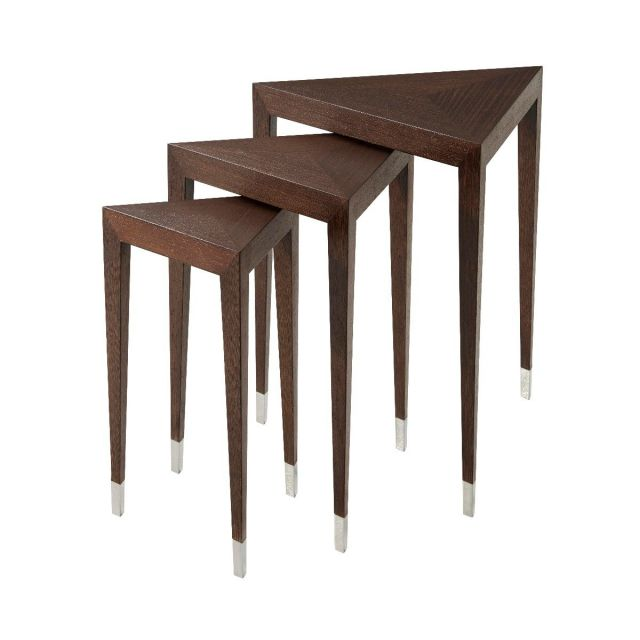Theodore Alexander Nest of Tables Triangulate