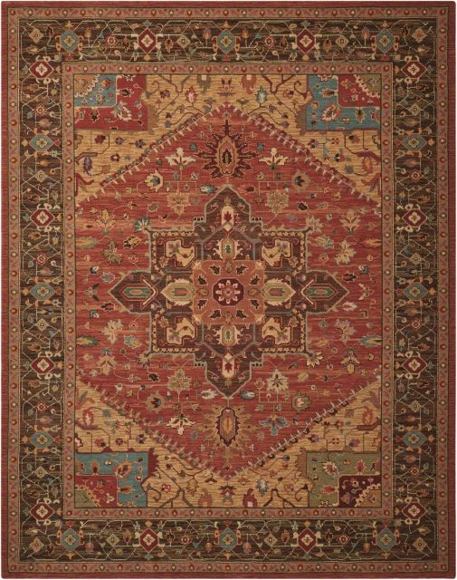 Nourison Rug Living Treasures - Rust