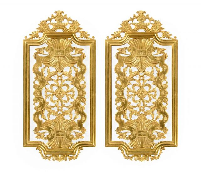 Jonathan Charles Decorative Wall Panels Renaissance Set of 2 - Short