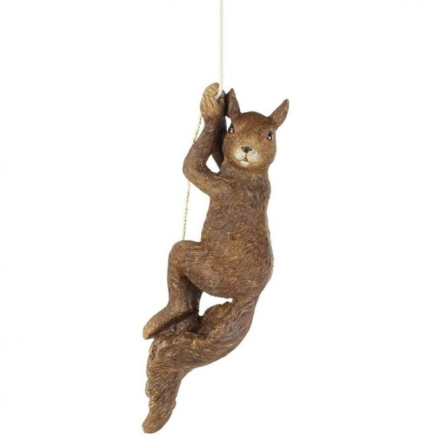 Parlane Swinging Squirrel Decoration