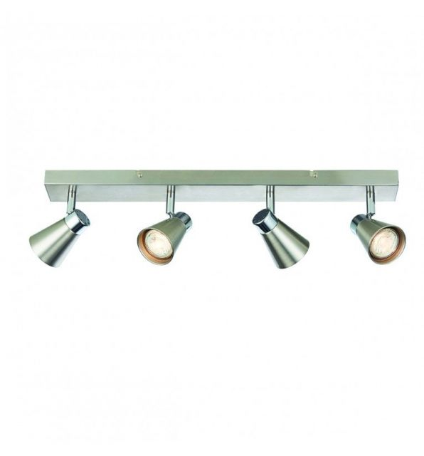 Pavilion Chic Ceiling Light Long Sappho in Silver