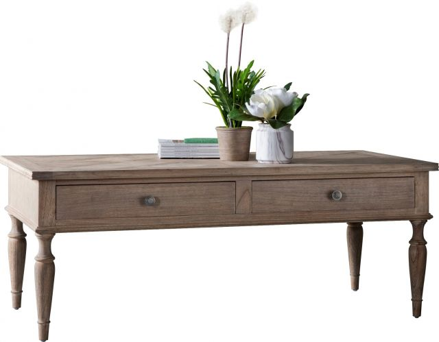 Pavilion Chic Coffee Table Cotswold with Drawers