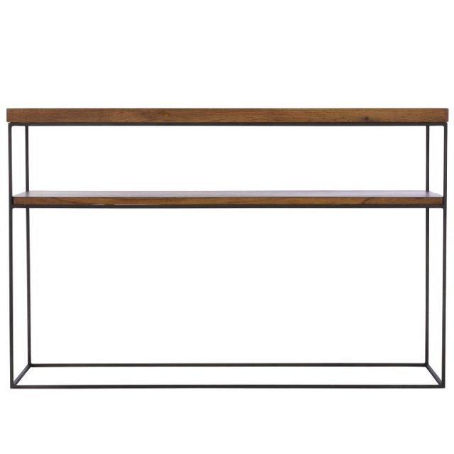 Pavilion Chic Console Table Soho in Oiled Oak