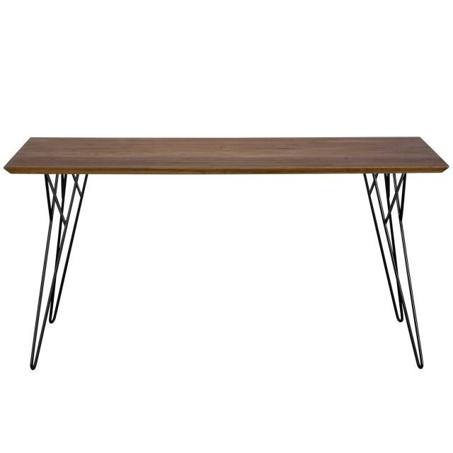 Pavilion Chic Dining Table Slight in Oiled Oak