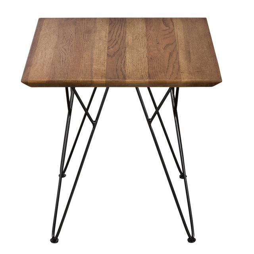 Pavilion Chic End Table Slight in Oiled Oak