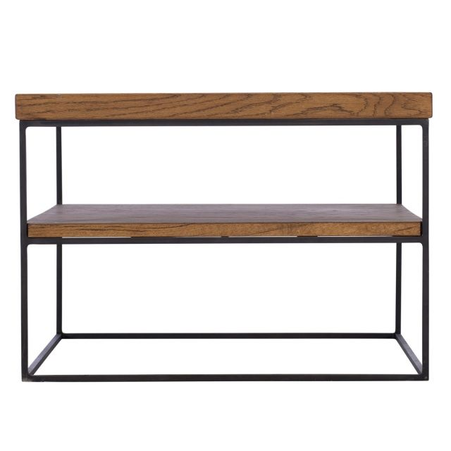 Pavilion Chic End Table Soho in Oiled Oak