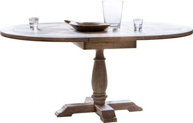 Pavilion Chic Extending Dining Table Cotswold Round