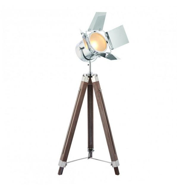 Pavilion Chic Film Floor Lamp Tripod Holly