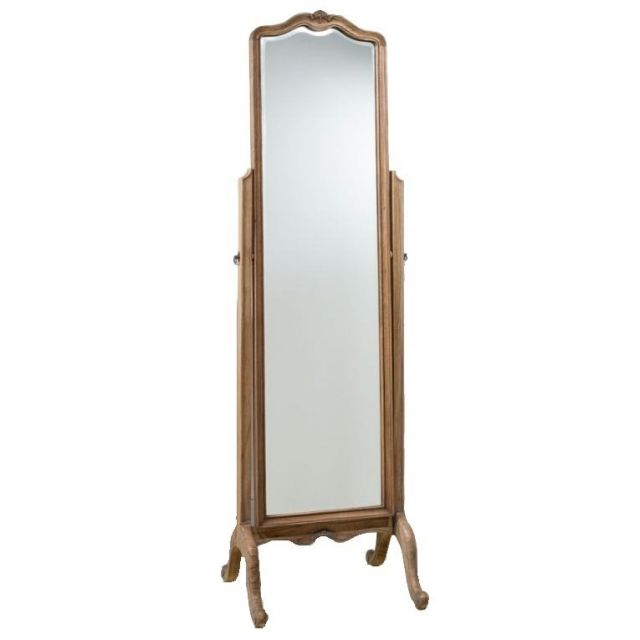 Pavilion Chic Floor Mirror Weathered Sovereign