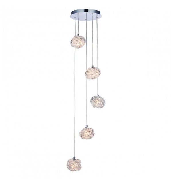 Pavilion Chic Pendant Light Cluster Appollo Crystal