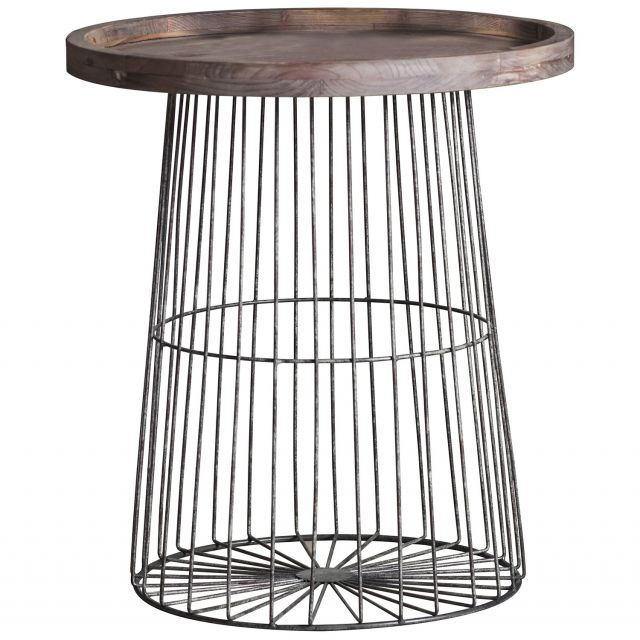 Pavilion Chic Side Table Tromso Industrial Timber