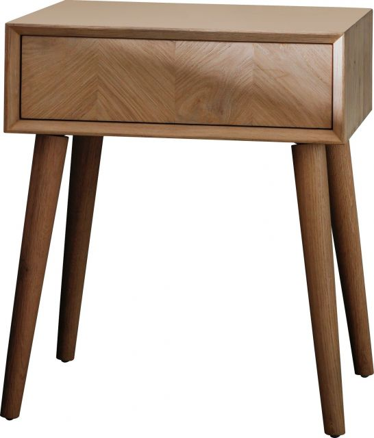 Pavilion Chic Side Table Papeete with Drawer