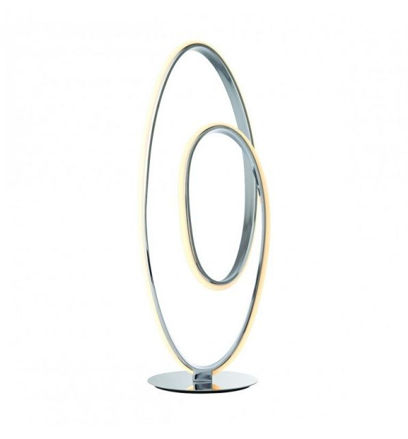 Pavilion Chic Table Lamp Cosmas Spiral Hooped