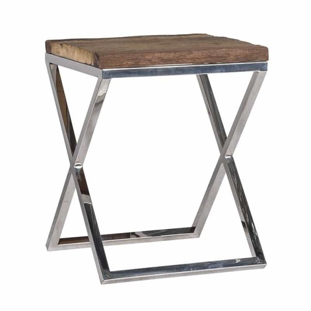 Richmond Side Table Kensington with Glass Top