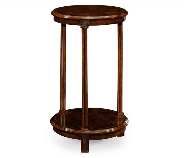 Jonathan Charles Round Side Table Chippendale Gothic