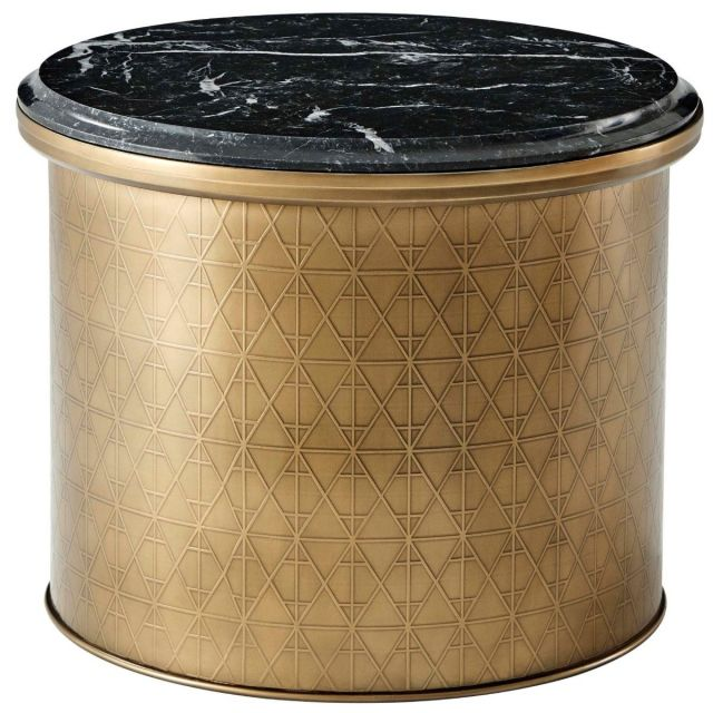 Theodore Alexander Round Side Table Iconic