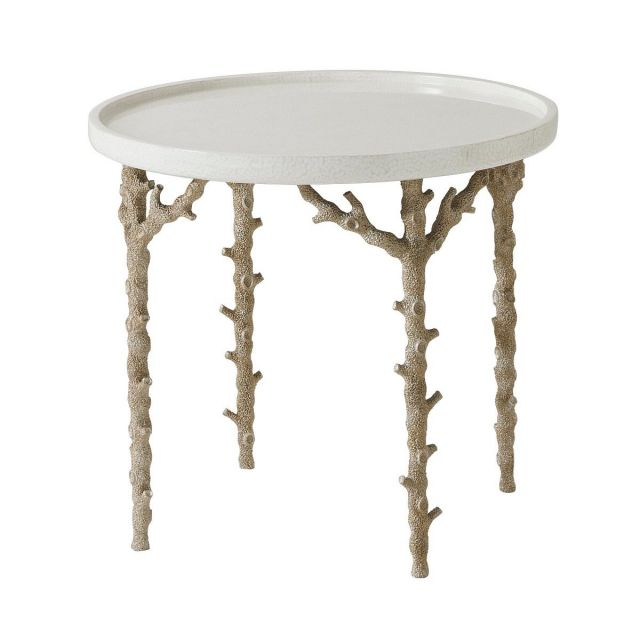 Theodore Alexander Round Side Table Pacific Reef