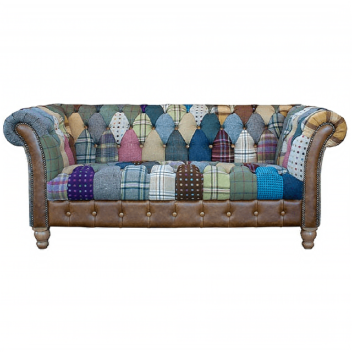 Carlton Furniture Harlequin Patchwork 2 Seater Sofa