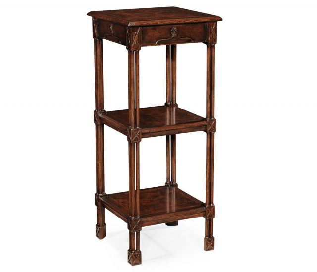 Jonathan Charles Etagere Chippendale Gothic 3 Tier