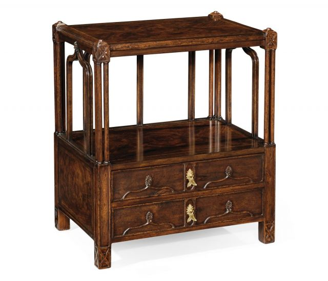 Jonathan Charles Side Table Chippendale Gothic
