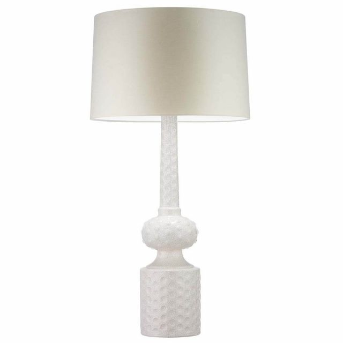 Heathfield & Co. Babylon Ivory Crackle Table Lamp