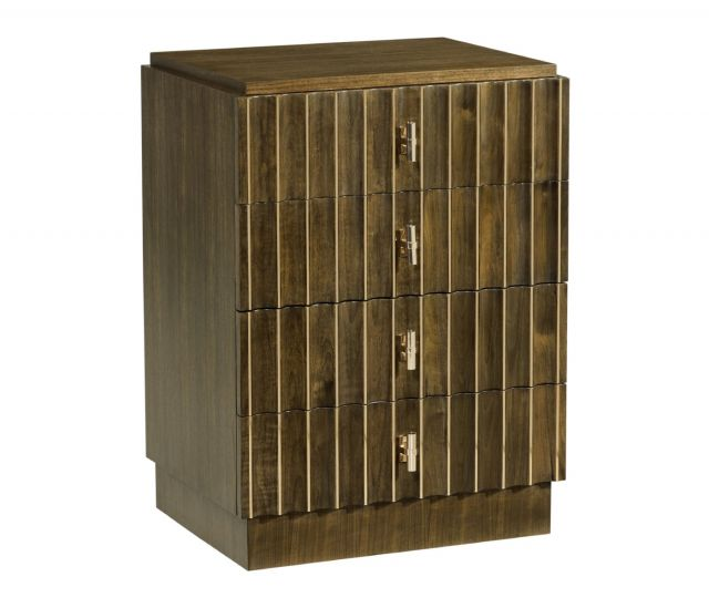 Jonathan Charles Small Chest of Drawers Reeded
