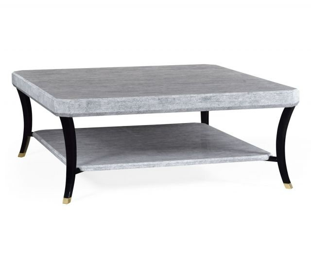 Jonathan Charles Square Coffee Table Oriental