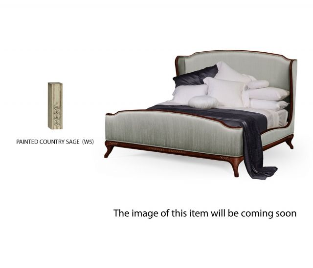 Jonathan Charles Super King Bed Frame Louis XV in Country Sage