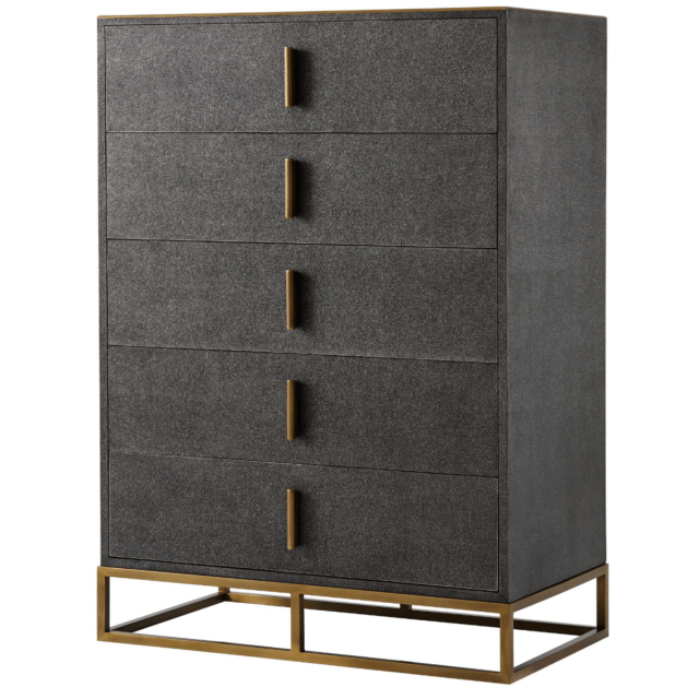 TA Studio Tall Chest of Drawers Blain in Tempest