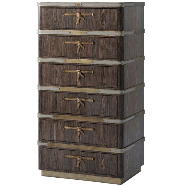Theodore Alexander Tall Chest of Drawers Iconic