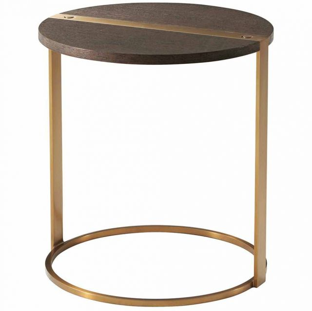 TA Studio Round Side Table Carson