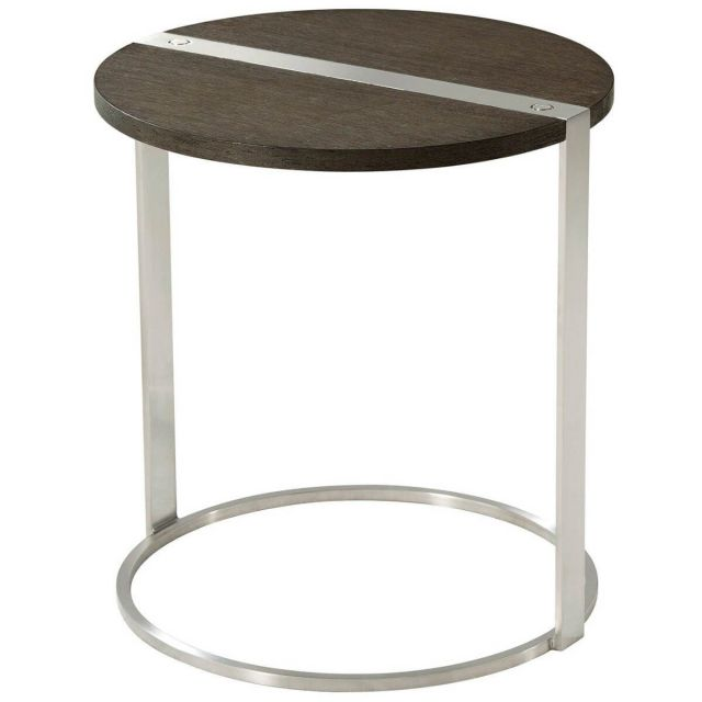 TA Studio Round Side Table Carson in Anise